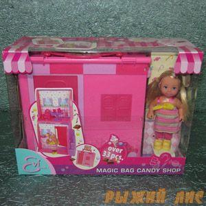 Кукла Еви + домик-сумочка