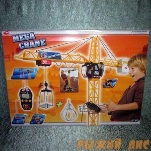 Подъемный Мега Кран на пульте управления