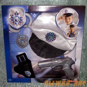 Полицейский набор с фуражкой