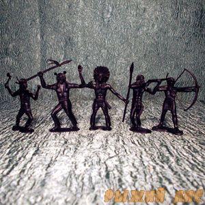 Солдатики Индейцы