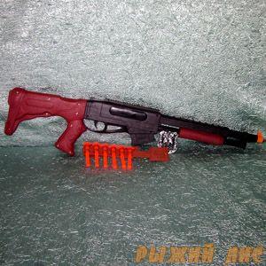 Полицейское ружье с пульками