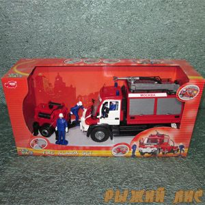 Пожарная машина с фигурками
