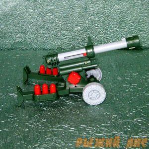 Пневматическая пушка с пульками