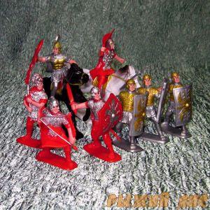Солдатики Римляне. Вид №2.