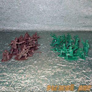 Солдатики 2-й Мировой - Германия-США
